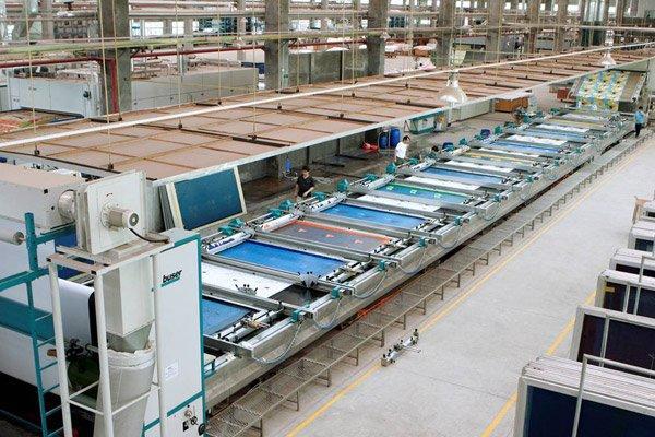 Płyta ekranu maszyny drukarskiej