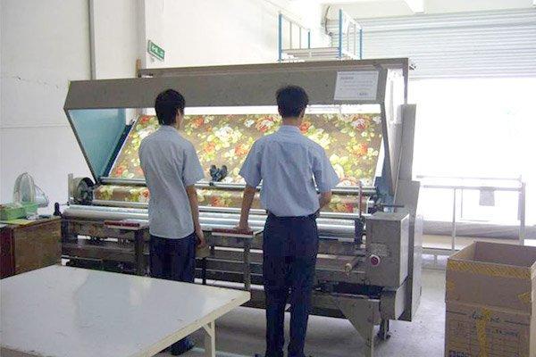 Inspekcja tkaniny