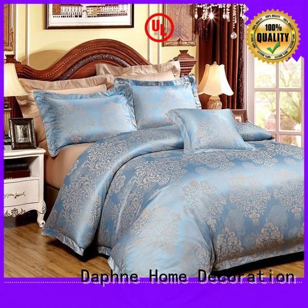 bed linen mixed beautiful Daphne Brand Jacquard Bedding Set supplier
