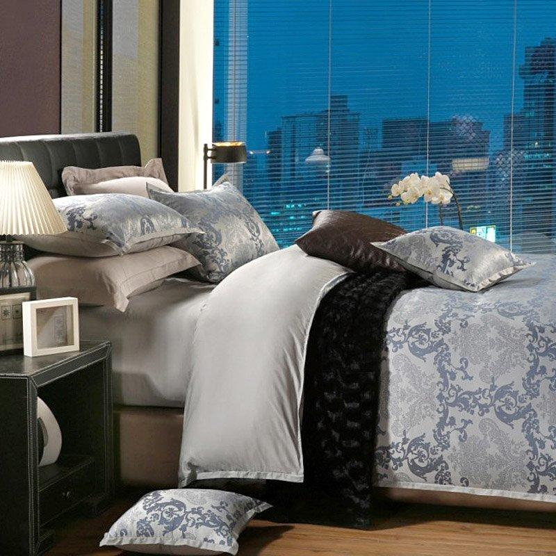Bamboo And Cotton Modern Beds China Bedroom Sets YC-Z-55