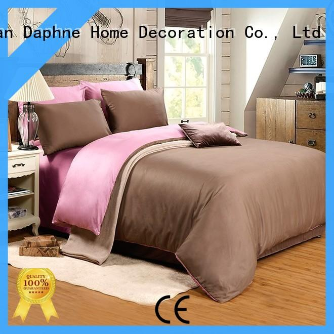 Daphne solid comforter cover queen cotton cover