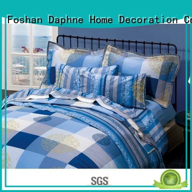 duvet adorable patterned OEM Cotton Bedding Sets Daphne