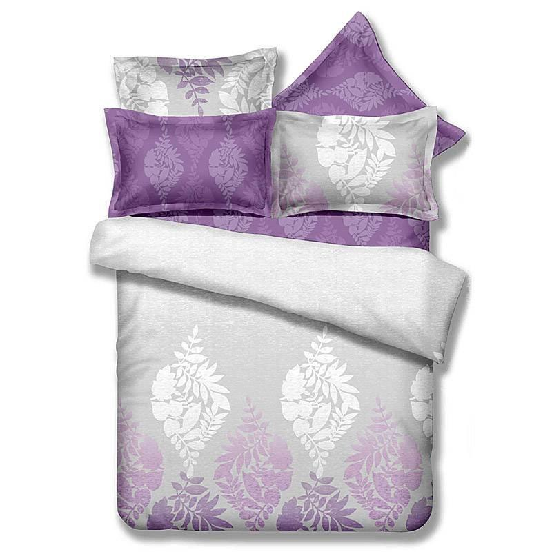 100% Bamboo Cotton Print Natural Bedding Designs DY-796AB