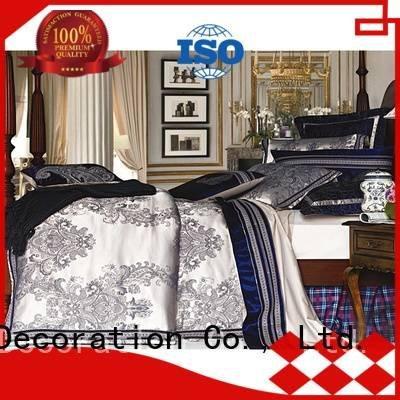 stunning silk polyester Daphne Jacquard Bedding Set