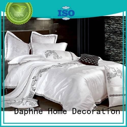 lustrous print designed jacquard duvet cover king Daphne