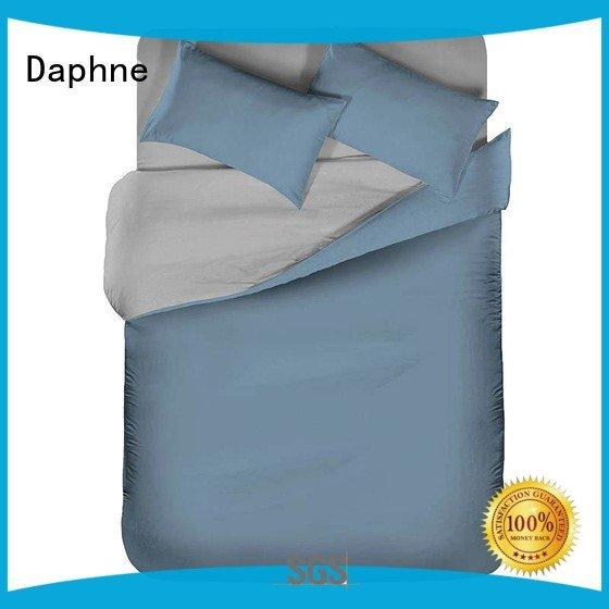 Daphne Solid Color Bedding count color modern turquoise
