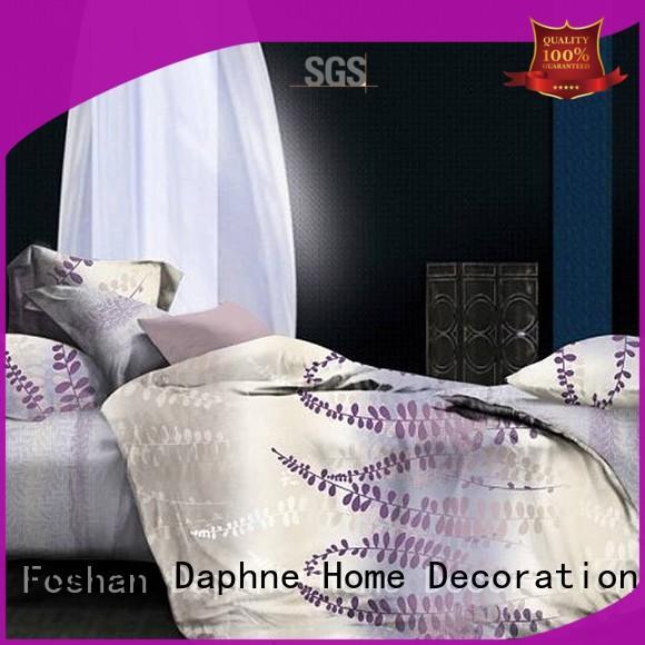Custom print comforters organic comforter Daphne printed