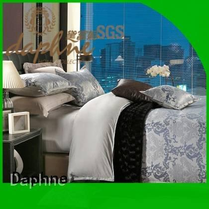 OEM Jacquard Bedding Set polyester modal jacquard duvet cover king