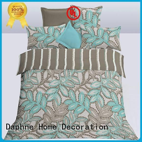 soft bedding microfiber comforter set microfibre Daphne