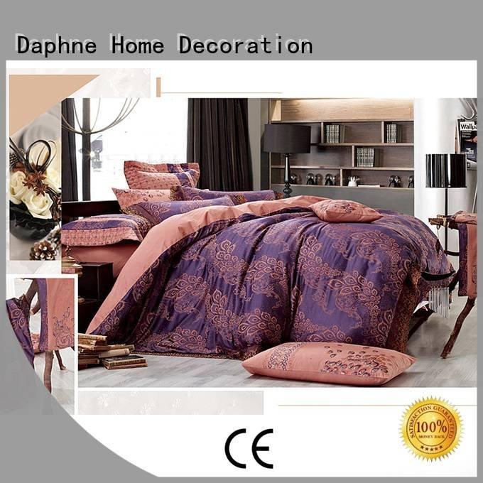 jacquard duvet cover king beds modal OEM Jacquard Bedding Set Daphne