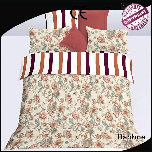 Daphne Brand print sheet microfiber comforter super comfortable