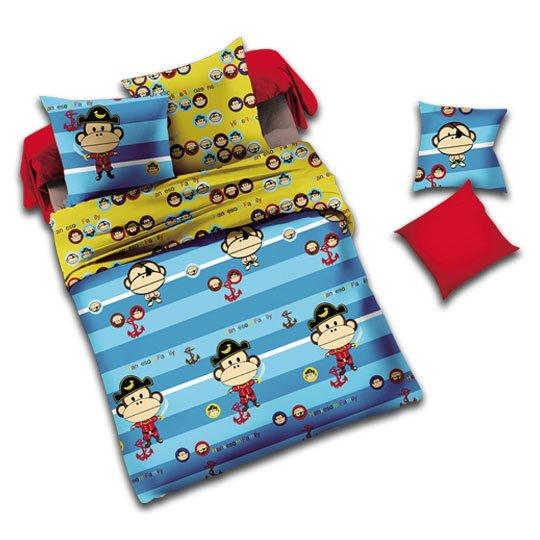 #Adventure Monkey# Kid's bed linen #130434
