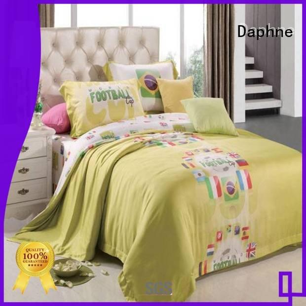 Daphne Brand world printed modal sheets football elegant