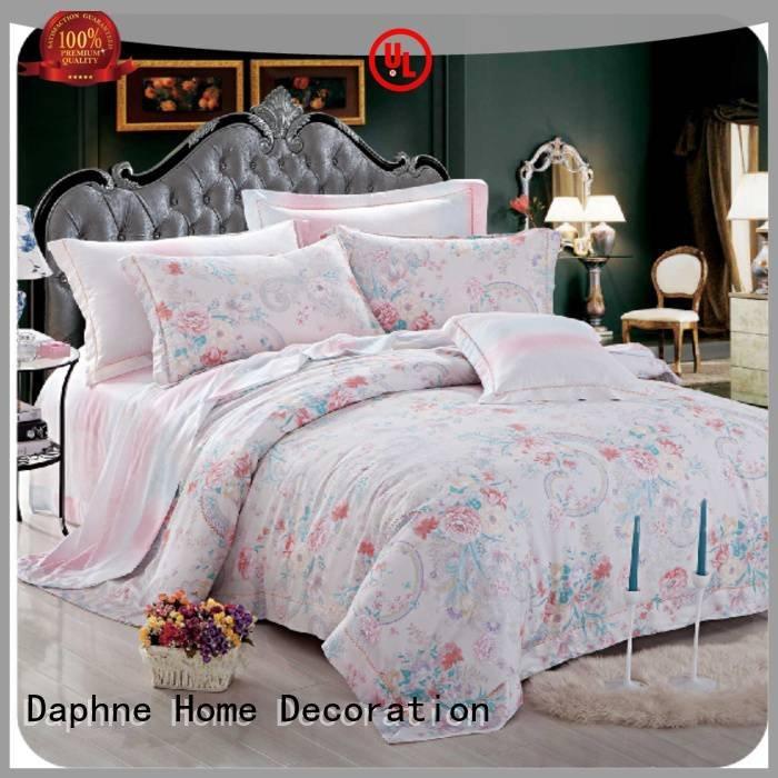 Hot queen size bamboo sheets duvet linen bamboo Daphne Brand
