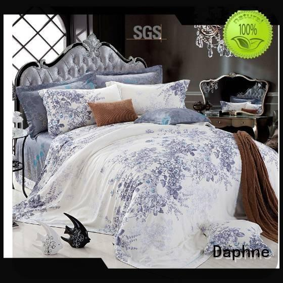 Daphne cotton designs Bamboo Bedding Sets print bedding