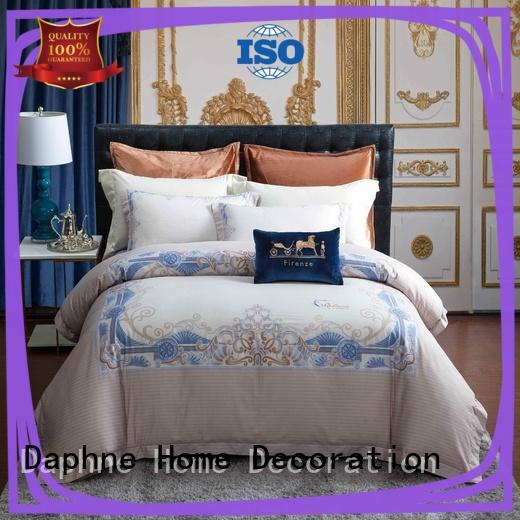 100 percent cotton bedding sets for hotel Daphne