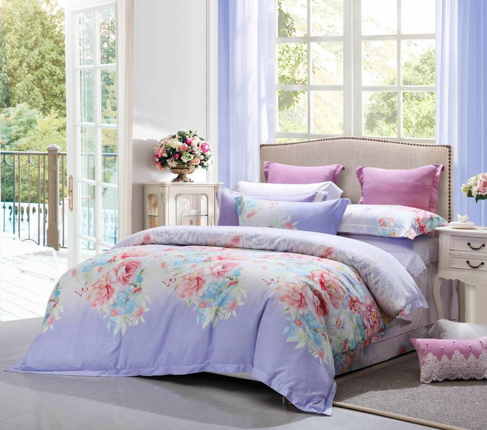 Attractive Brushed Cotton Printed Bedding #6886