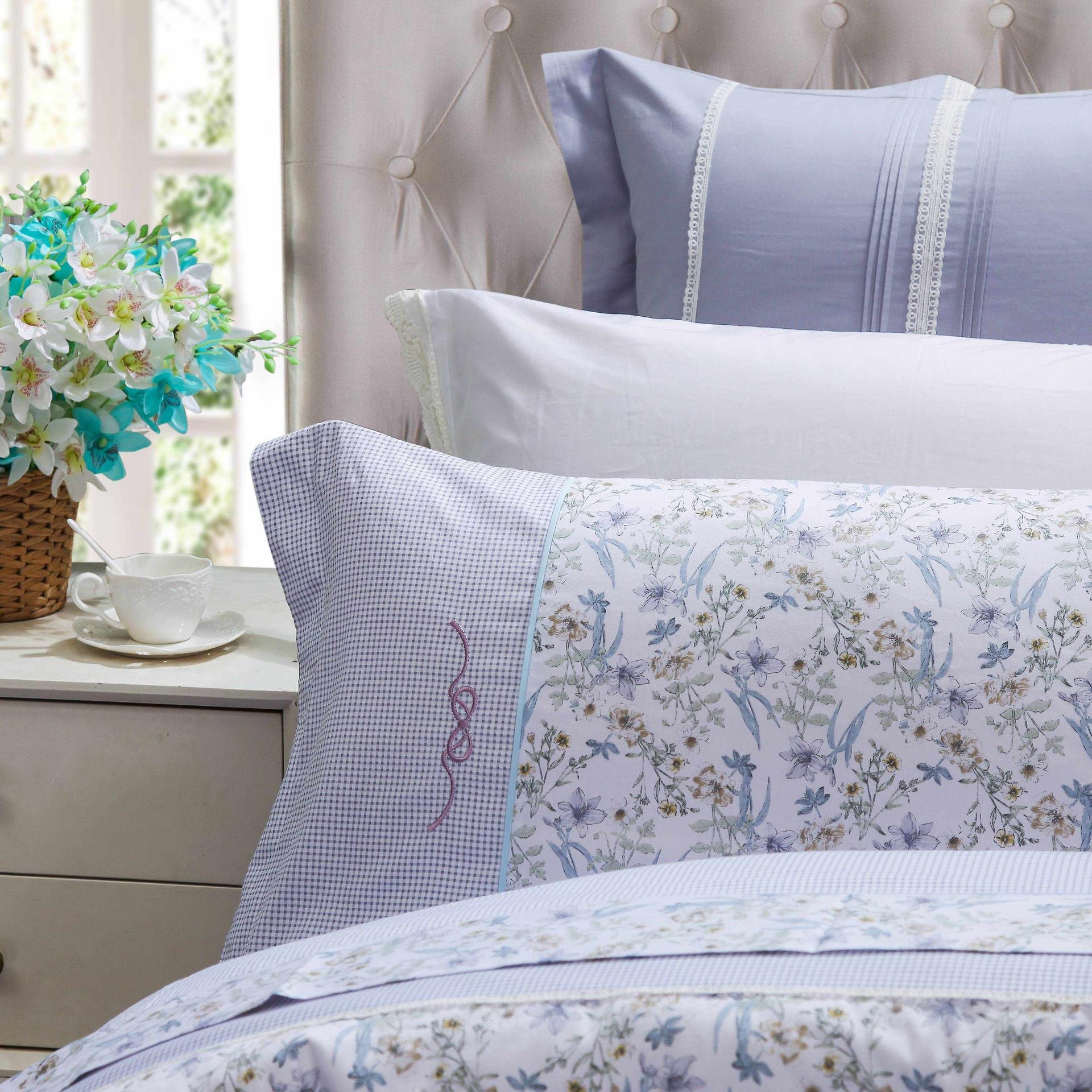 Floral Prints Cotton Duvet Cover Set