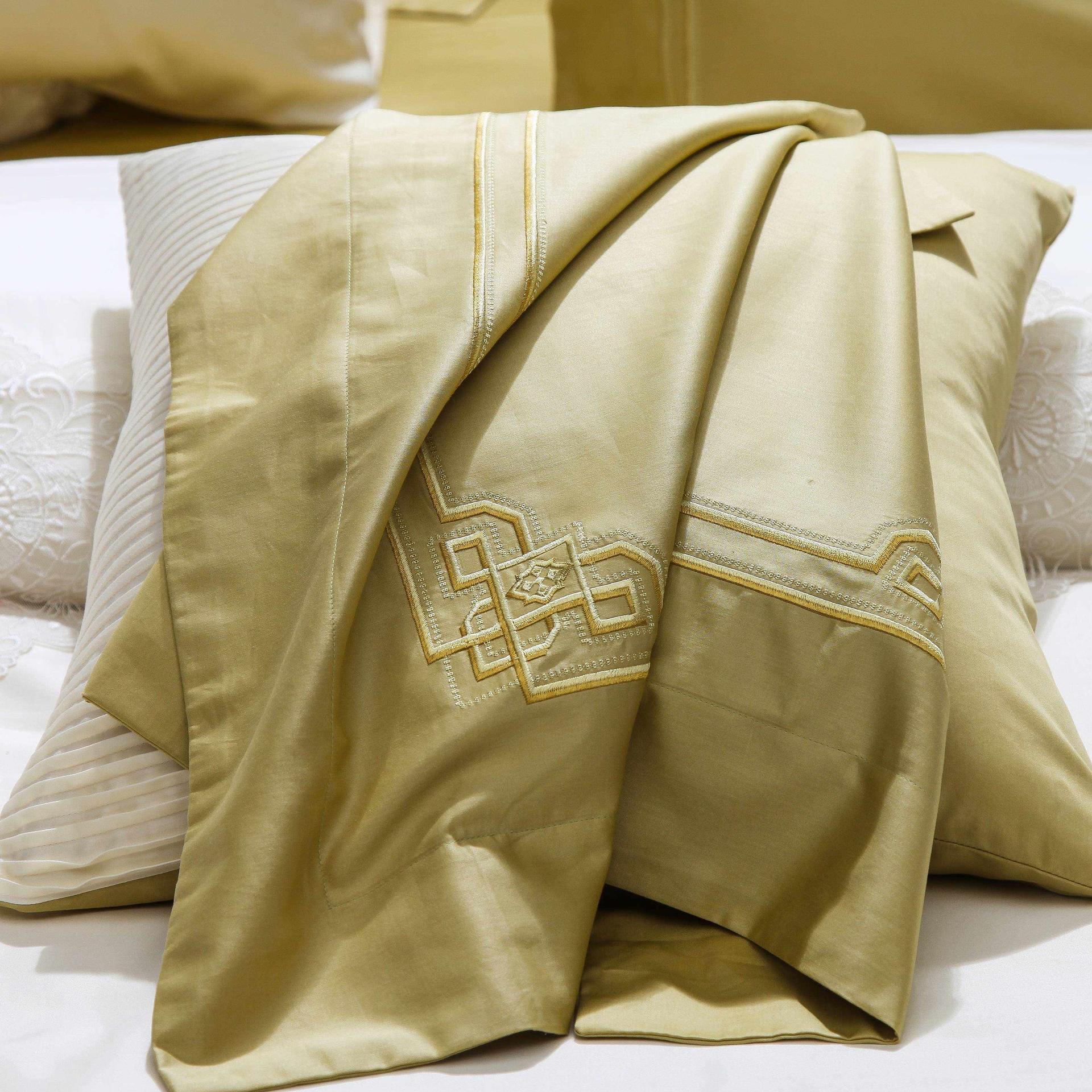 Magnolia Embroidery Cotton Bedding 6889