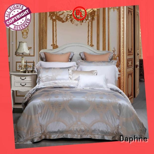 Daphne flat cotton bedding sets fast delivery