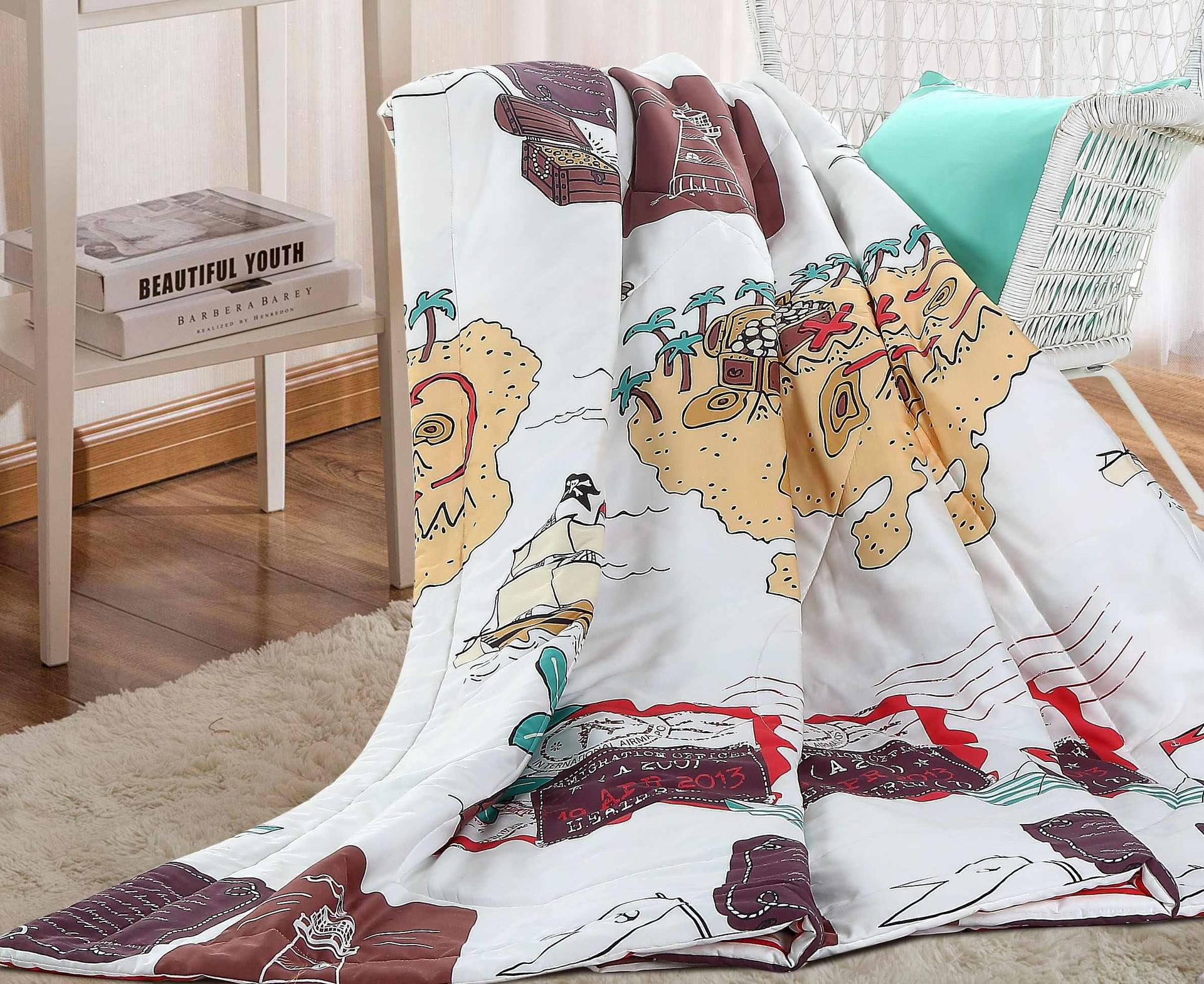 Soft High Quality Summer Quilt 100% Cotton