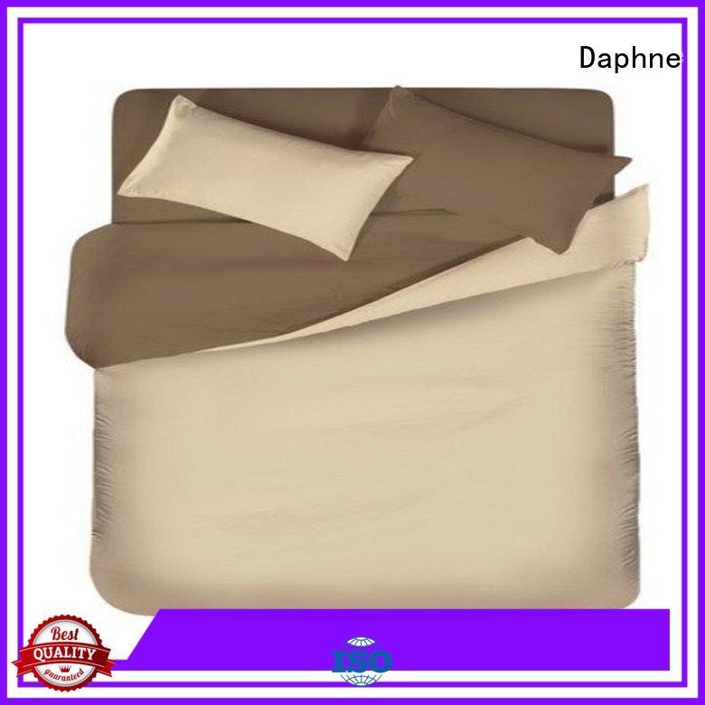 linen bedding sets simple colorful Solid Color Bedding pure Daphne Brand