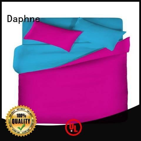 linen bedding sets turquoise linen OEM Solid Color Bedding Daphne