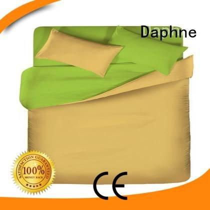 Daphne Brand solid shee count Solid Color Bedding