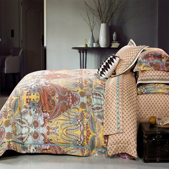 400 High thread count pima cotton comforter set  #140175