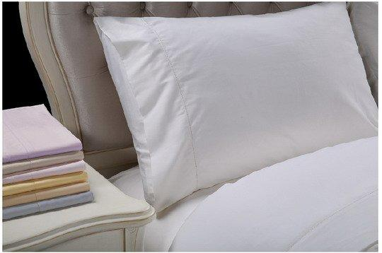 Modern and Simple Style Hemstitch Solid Home Bedding Set