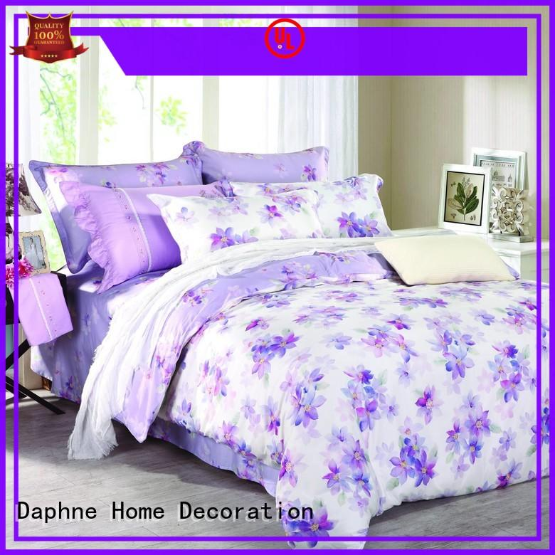 Daphne cotton bedding sets king stylish for hotel