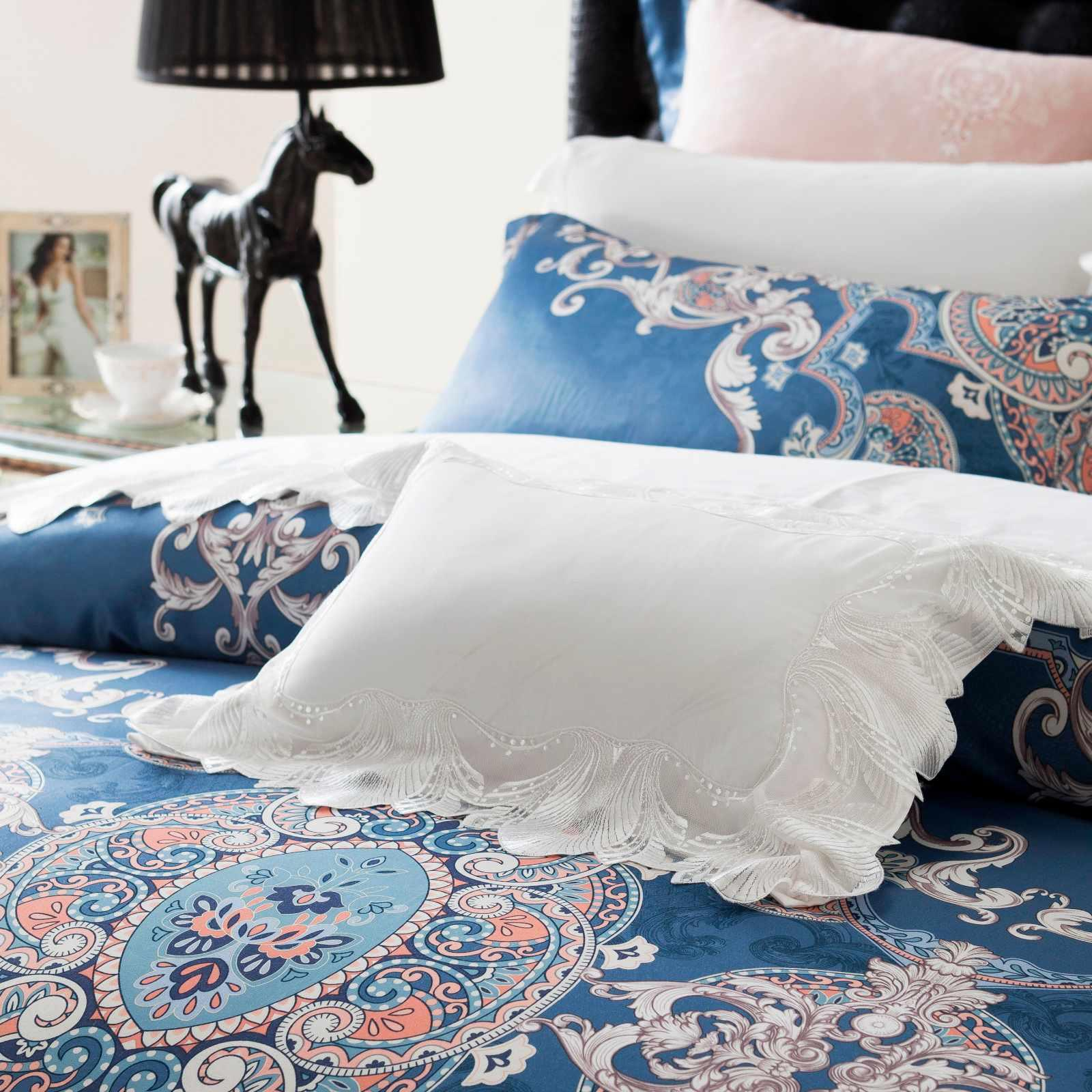 Jacquard Stunning Bed Linen  400TC Polyester and Viscose 6860