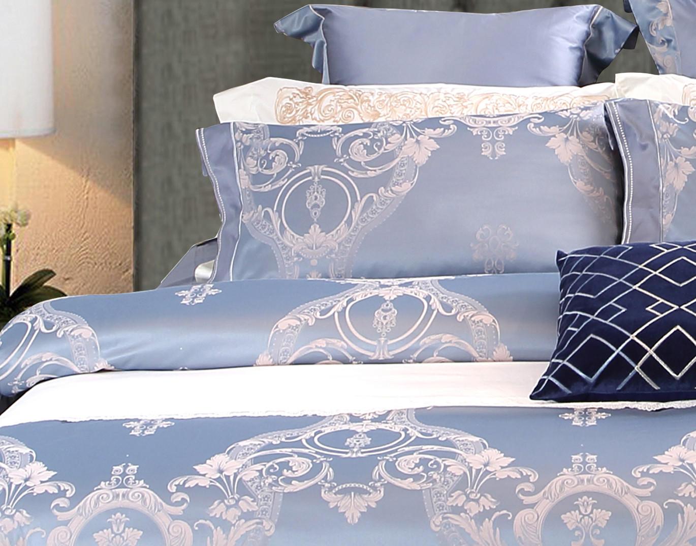 Daphne Brand noble bamboo silk Jacquard Bedding Set