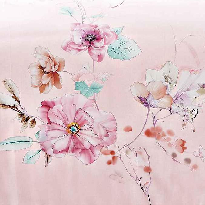 Flower Patterns Bedding Set Long-staple Cotton Bright Color