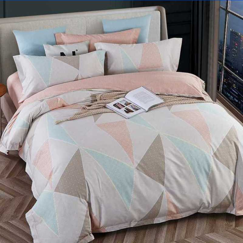 100% Cotton Duvet Cover Set Colorful Bedding Set