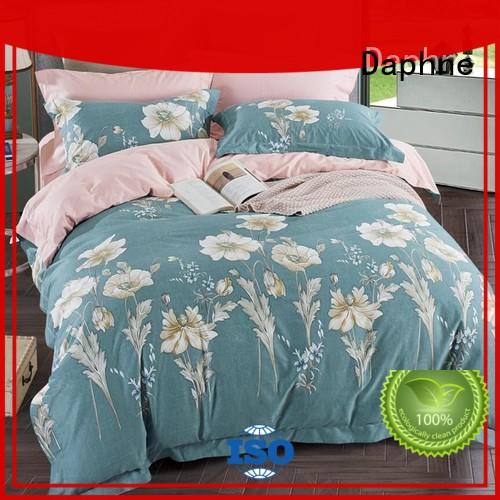 Daphne reactive Cotton Bedding Sets gorgeous design for hotel