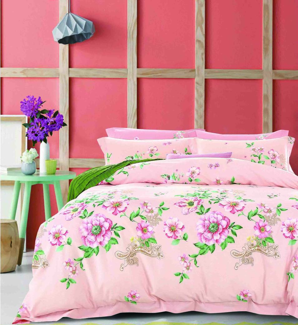 Customized Bedding Set  Wholesale At Favorable Price, Vivid Floral Printed Covet