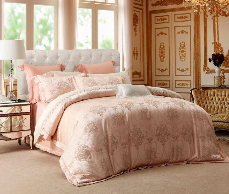 Polyester and Rayon Jacquard Elegant Designed Bedding  6845
