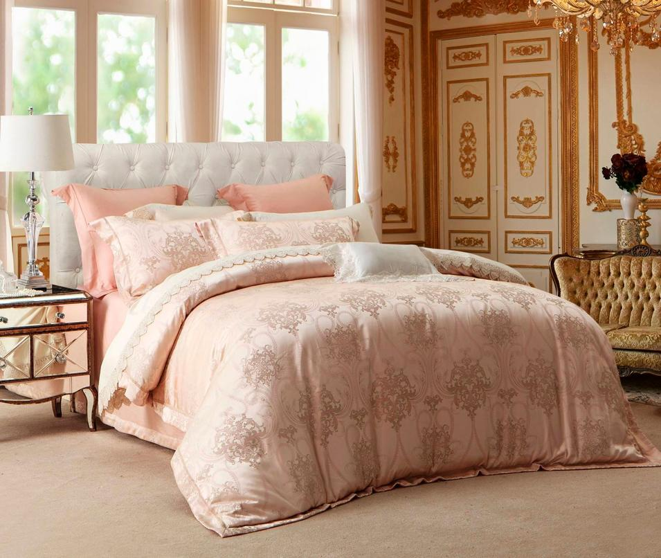 Polyester and Rayon Jacquard Elegant Designed Bedding  6845