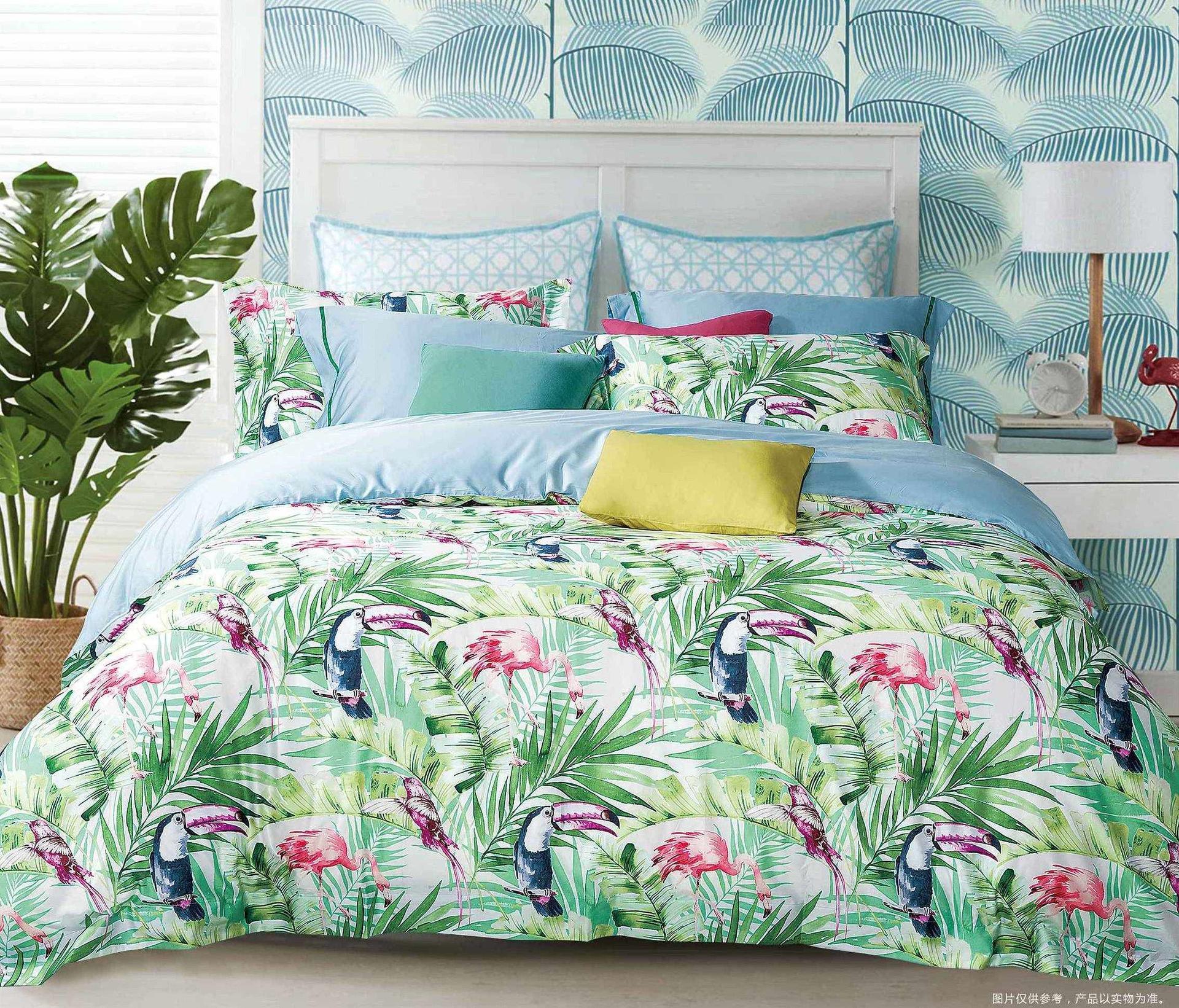 Tropical 500 Thread Count High Density Cotton Bedding Set 171058