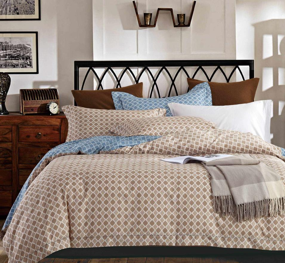 Simple Printed Long-staple Cotton Bedding 171407