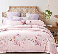 Flower Patterns Bedding Set Long-staple Cotton Bright Color