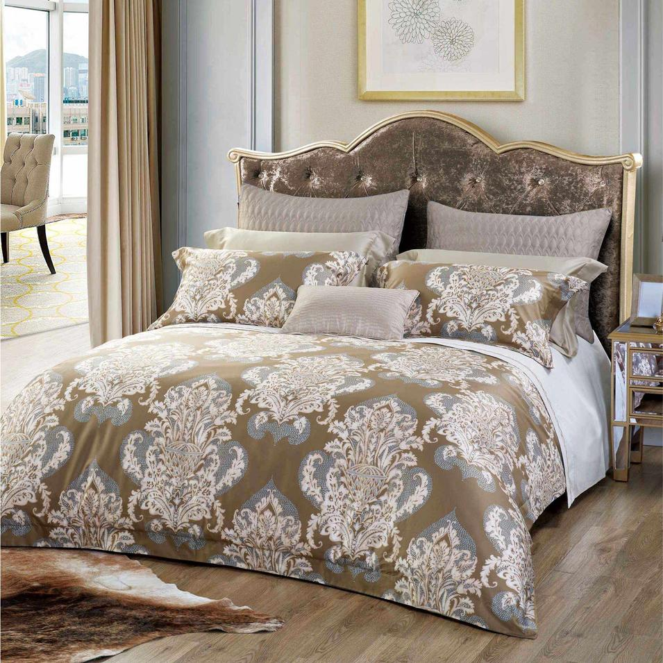 Brown Totem Luxury Cotton Bed Linen 171311