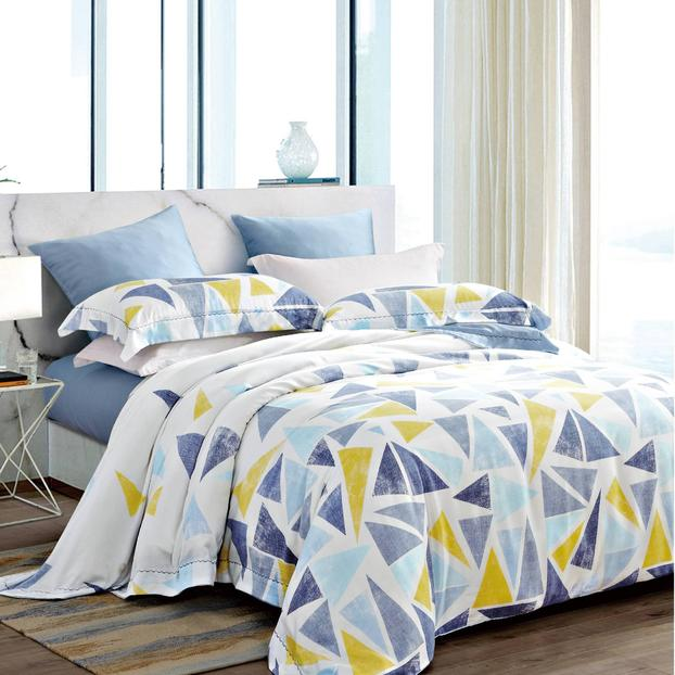 Bright Color Triangle Bedding Product Lyocell 171025
