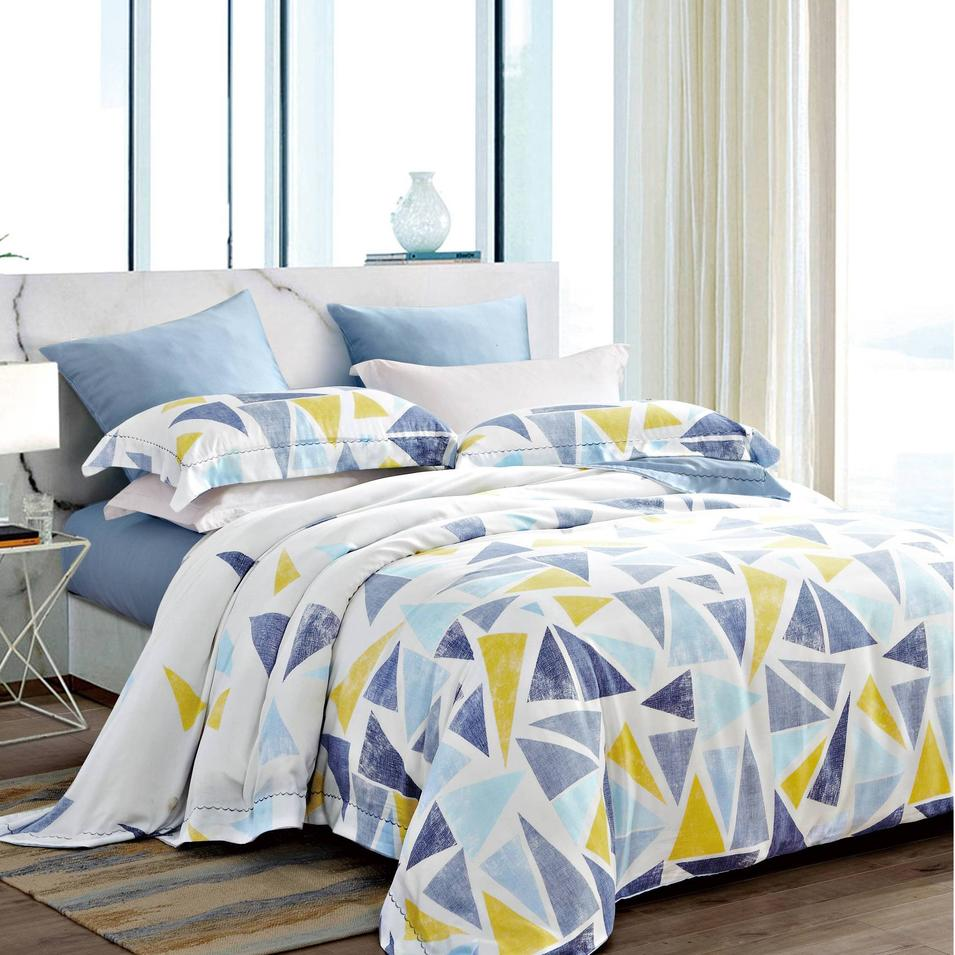 Bright Color Triangle Bedding Product Lyocell
