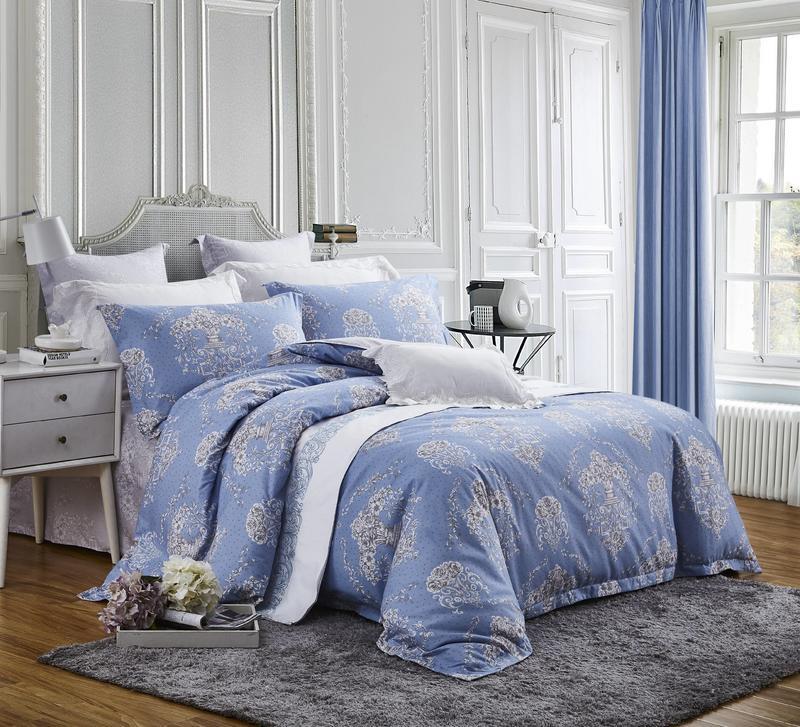 Retro Designed 100% Polyester Brushed China Bedding Set