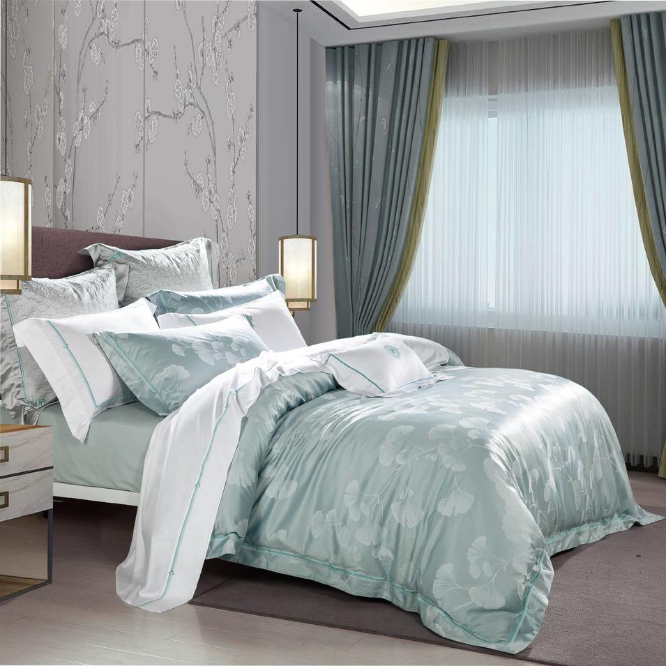 Chinese Style Bedlinen Set Jacquard Designed