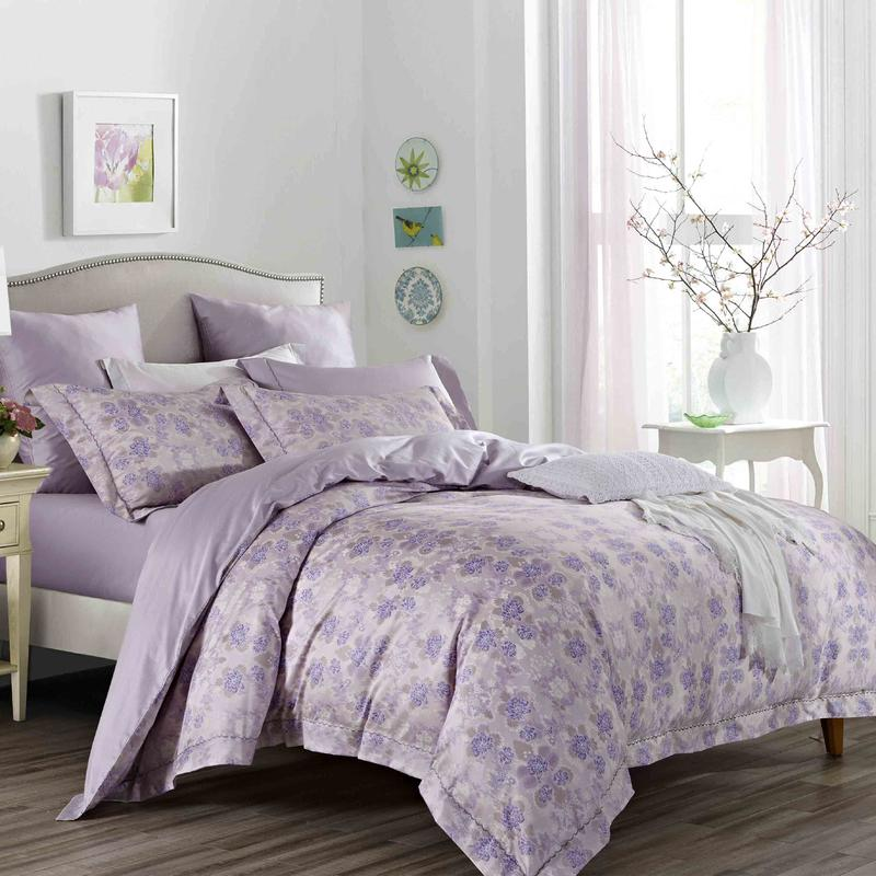 Lush Floral Pattern Bedding Set 100% Cotton