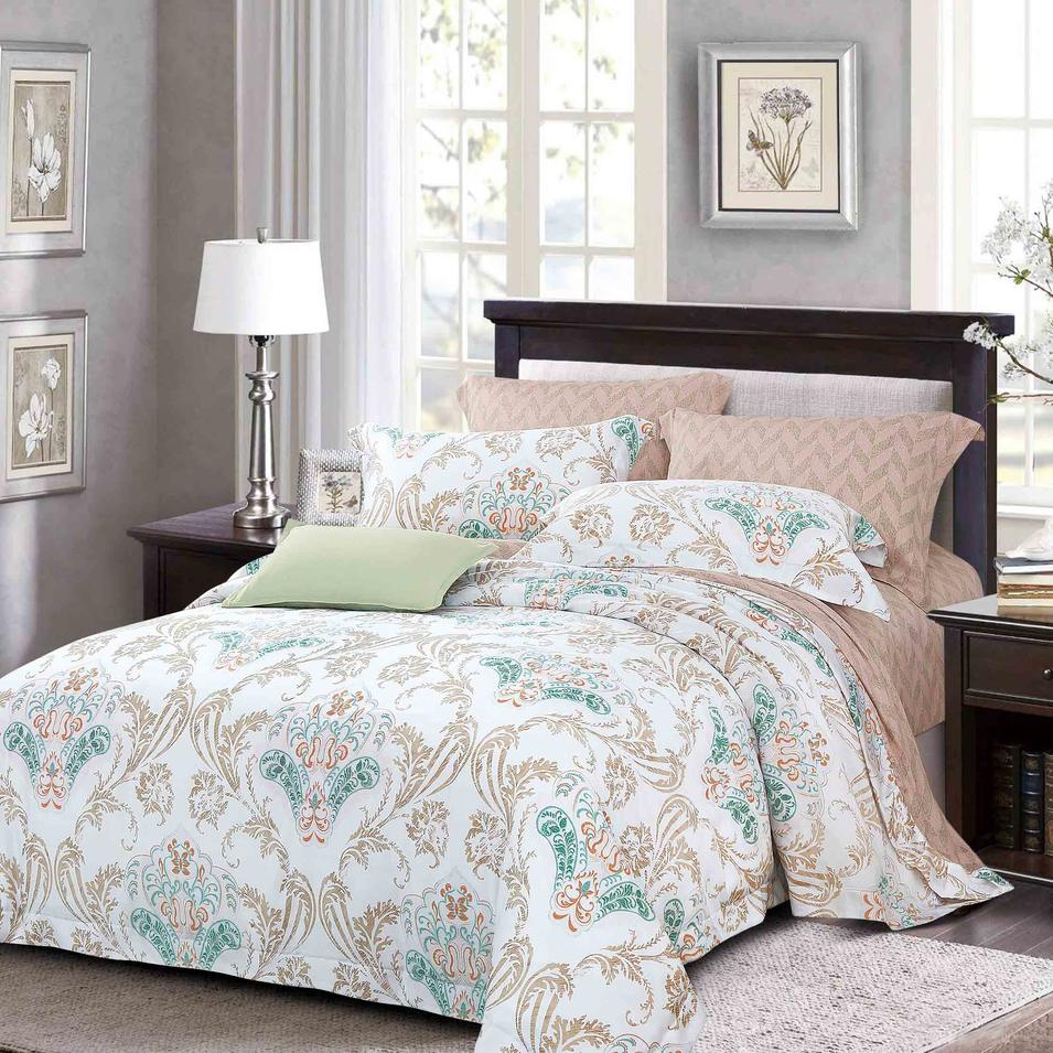 100% Lyocell Soft Bed Linen Made in China