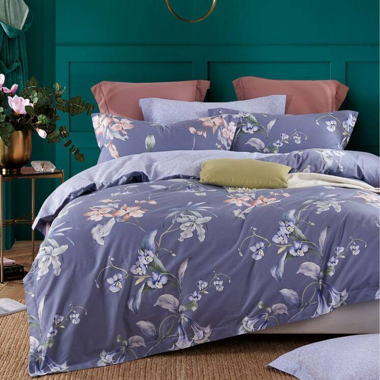 High-quality Elegant Bed Linen Sheet Set Daphne 4 Pieces